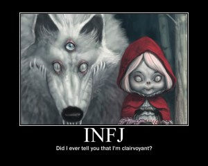 INFJ clairvoyant